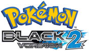 Pokémon Black Version 2 game logo