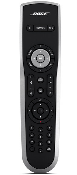 bose remote control. the bose remote included with lifestyle t20 home theater system control i