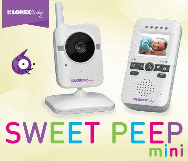BB1811 Lorex Baby Sweet Peep mini Video Baby Monitor