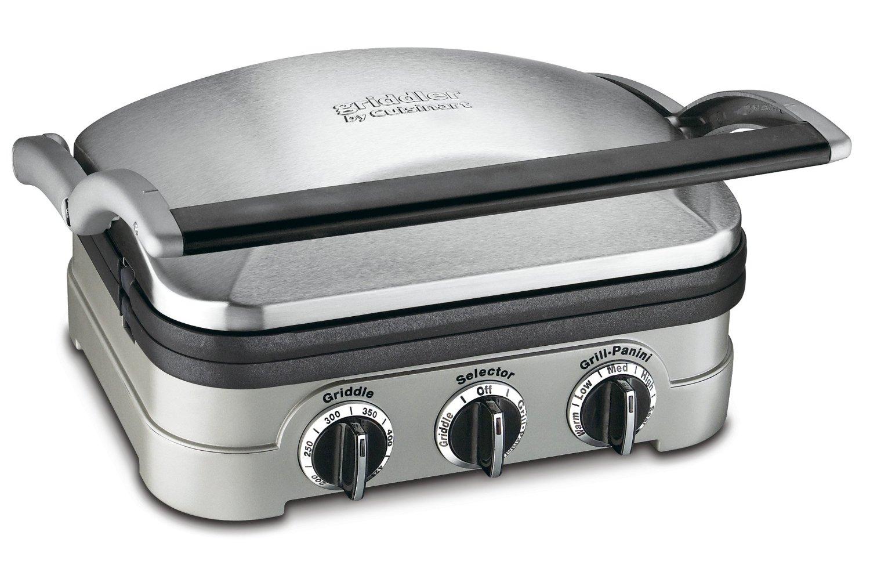 Cuisinart gr 4n griddler panini press - Cuisinart griddler grill panini press ...